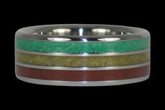 Bob Marley Titanium Ring - Hawaii Titanium Rings