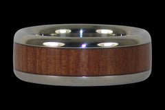 Redwood Titanium Ring - Hawaii Titanium Rings  - 1