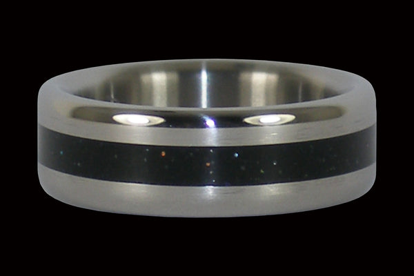 Black Metal Titanium Ring