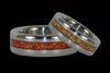 Gold Metal Titanium Ring - Hawaii Titanium Rings  - 2