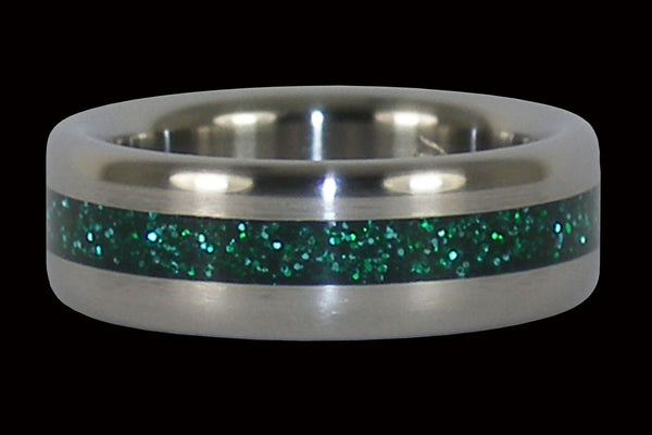 Green Titanium Ring