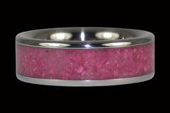Ruby Titanium Ring - Hawaii Titanium Rings  - 1