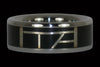 Black Matrix Titanium Ring - Hawaii Titanium Rings  - 1