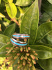 Koa and Turquoise Hawaii Titanium Ring® Band