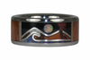 Volcano Island Ring - Hawaii Titanium Rings  - 2