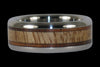 Mango and Koa Wood Titanium Rings - Hawaii Titanium Rings  - 2