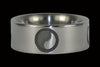 Yin and Yang Titanium Ring - Hawaii Titanium Rings  - 1