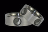 Yin and Yang Titanium Ring Set - Hawaii Titanium Rings  - 1