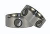 Yin and Yang Titanium Ring Set - Hawaii Titanium Rings  - 4
