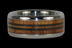 Longboard Titanium Ring - Hawaii Titanium Rings