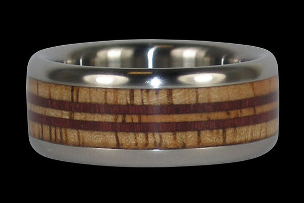 Hawaii Titanium Ring for Surfers