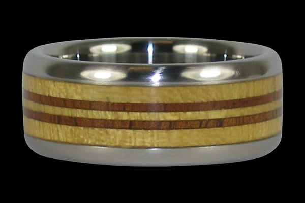 Longboard Titanium Ring for Surfer