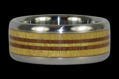 Longboard Titanium Ring for Surfer - Hawaii Titanium Rings