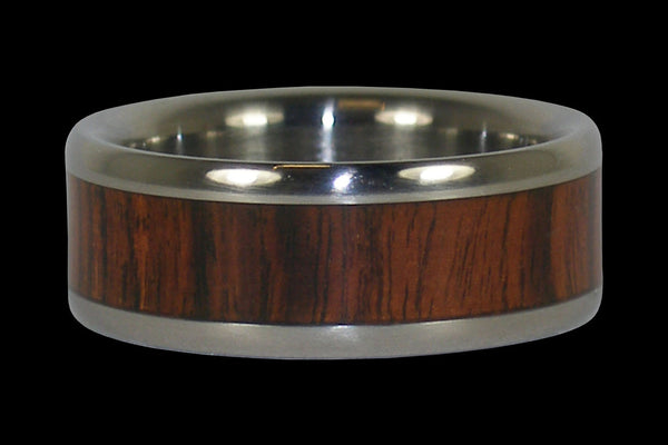 King Wood Titanium Ring