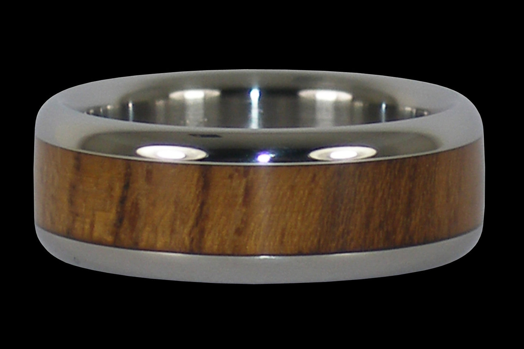 best bands beautiful wedding steel teak of damascus wood rings mens