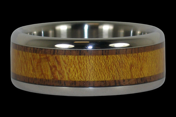 American Wood Titanium Ring