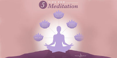 A mini meditation session - to clear your mind and boost energy levels