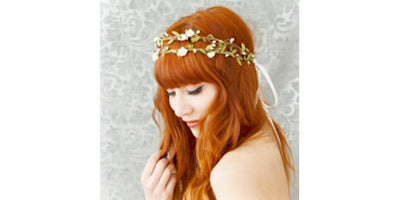 Beautiful Hair Accessories from Gardens of Whimsy
