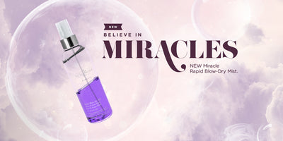 Miracle Blow-Dry Mist at the Pure Beauty Global Awards 2020