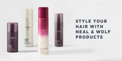 Style Your Hair with Neal & Wolf Top Styling Products