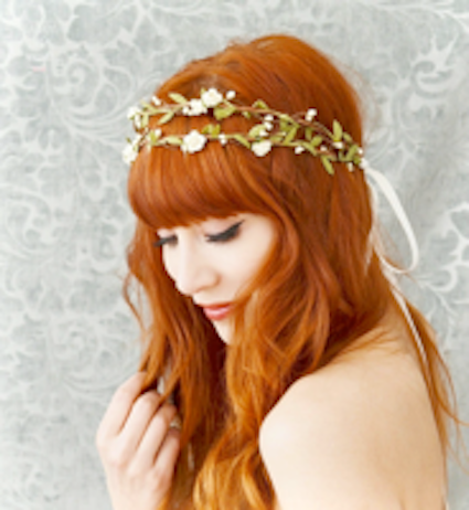 Boho Bridal Headpiece, £43.00