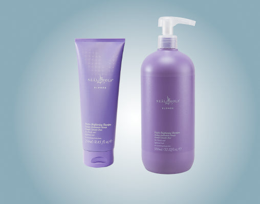 Neal & Wolf professional blonde purple shampoo & conditioner