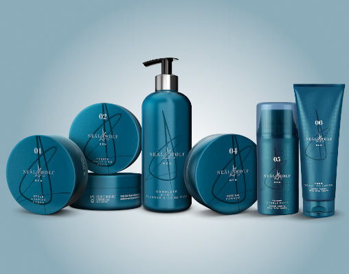 Neal & Wolf professional mens barbering range