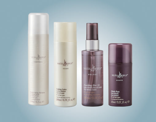 Neal & Wolf professional styling & finishing products