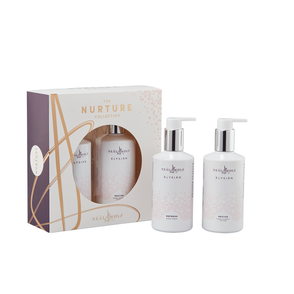 NURTURE Duo Elysian Hand Wash & Lotion Collection