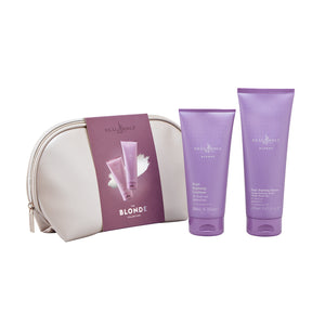 BLONDE Purple Shampoo & Conditioner Christmas Gift Set