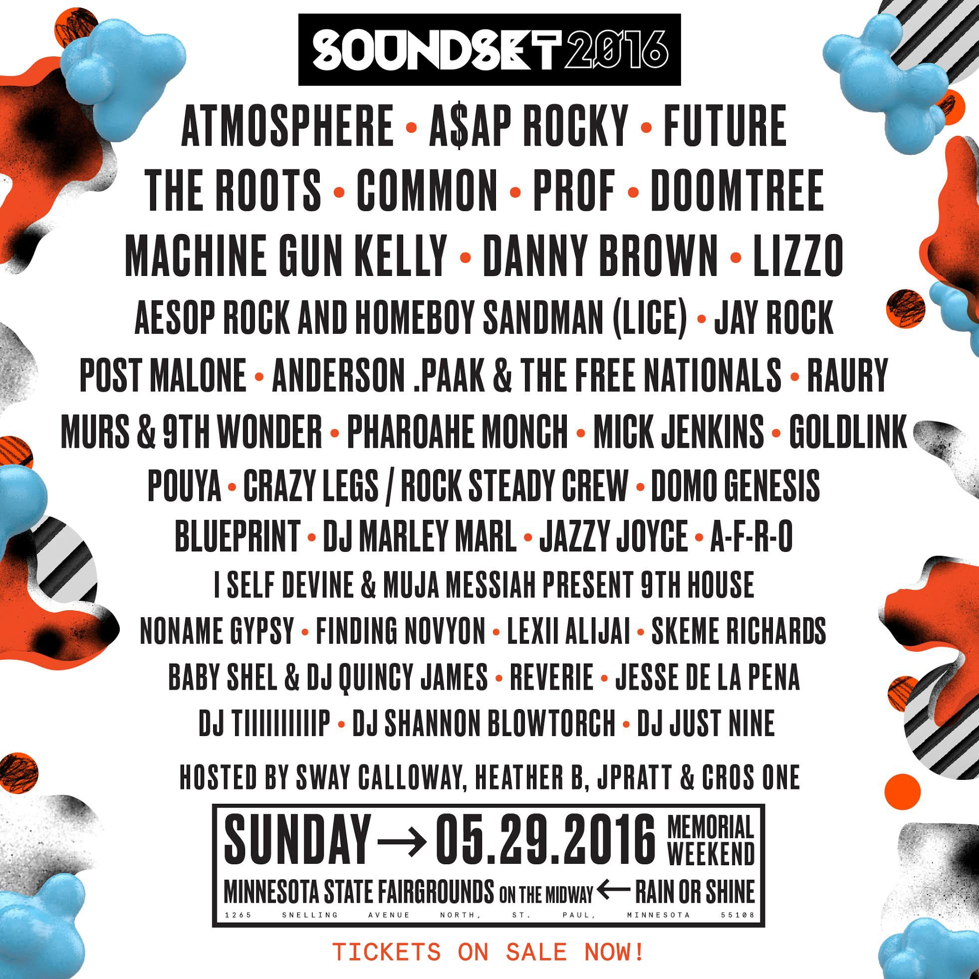 Soundset 2016 Tickets Available at Fifth Element