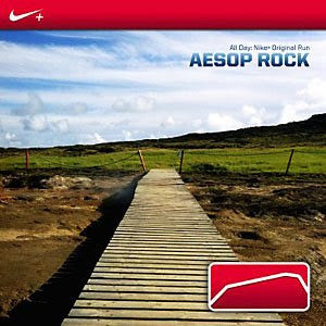 "Aesop Rock ""All Day: Nike+ Original Run"" CD"
