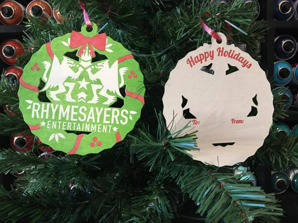 Rhymesayers Tree Ornament