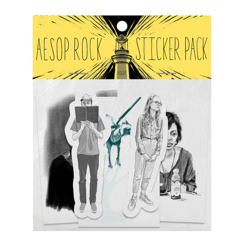 "Aesop Rock ""Rogue"" Sticker Pack [Pre-order]"
