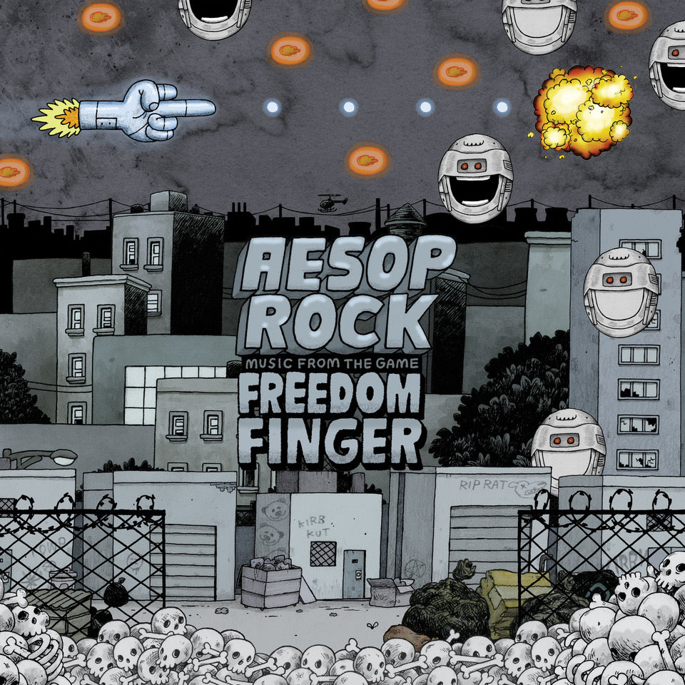 "Aesop Rock ""Music From The Game Freedom Finger"""