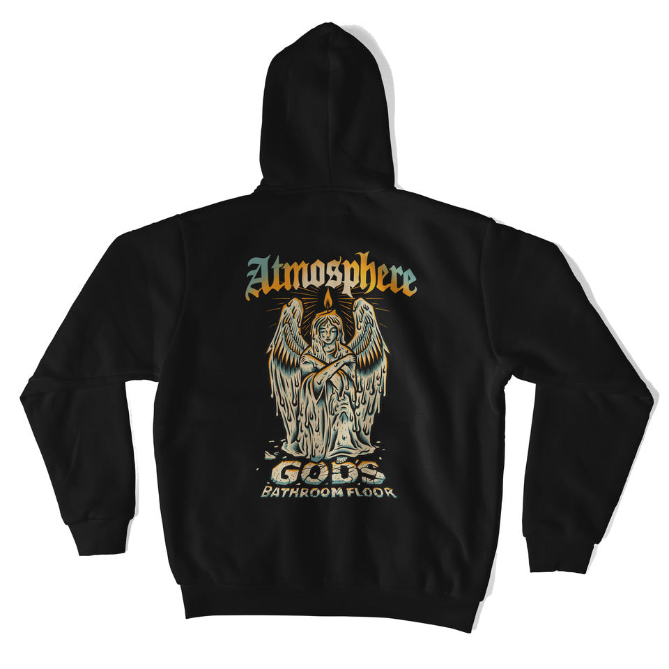 "Atmosphere ""God's Bathroom Floor"" Zip-Hoodie"