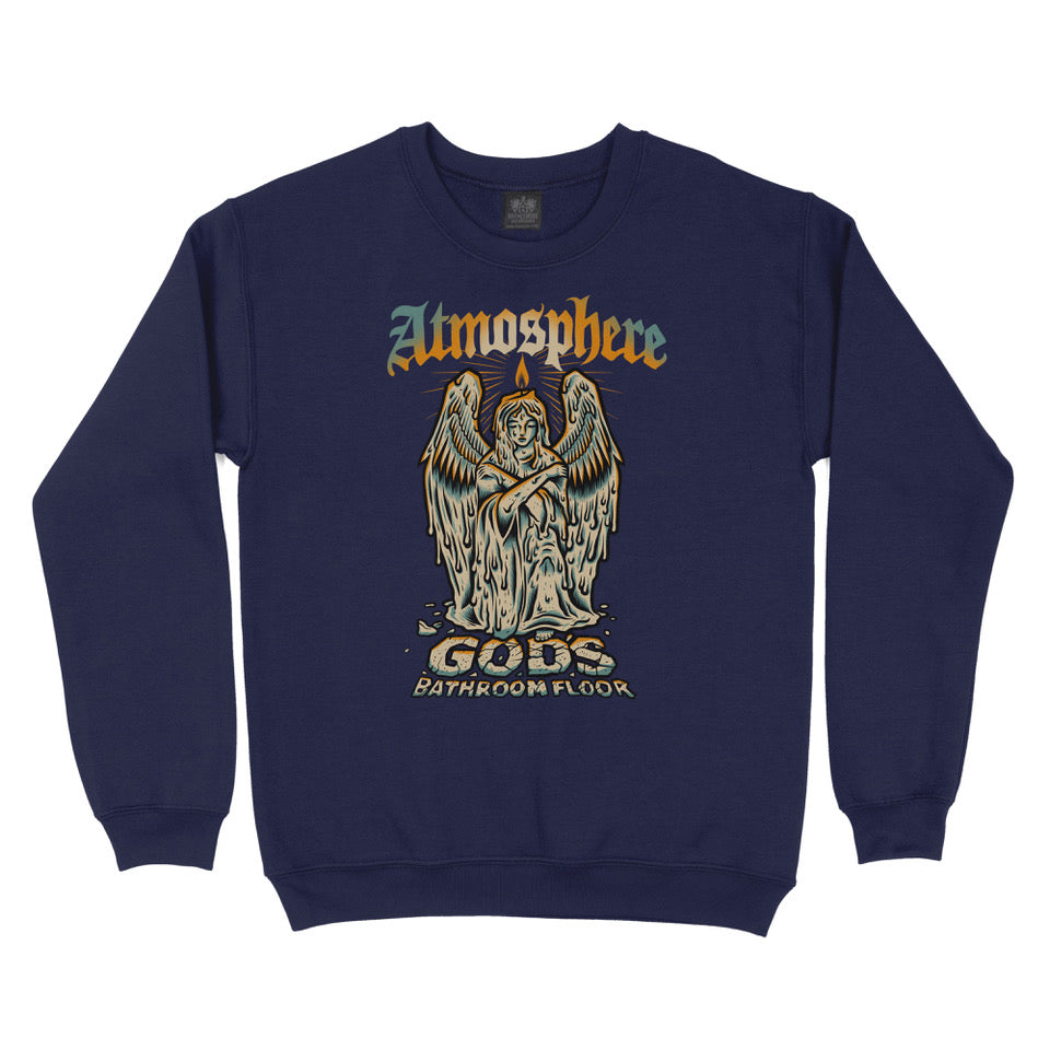 "Atmosphere ""God's Bathroom Floor"" Crewneck Sweatshirt"