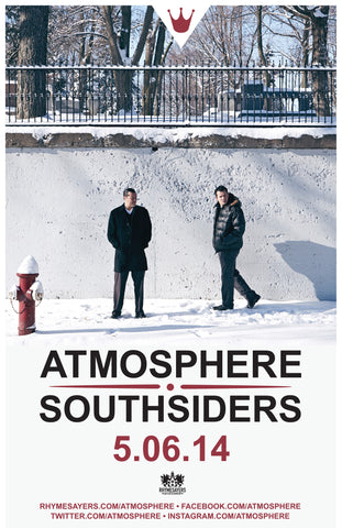 "Atmosphere ""Southsiders"" Poster"