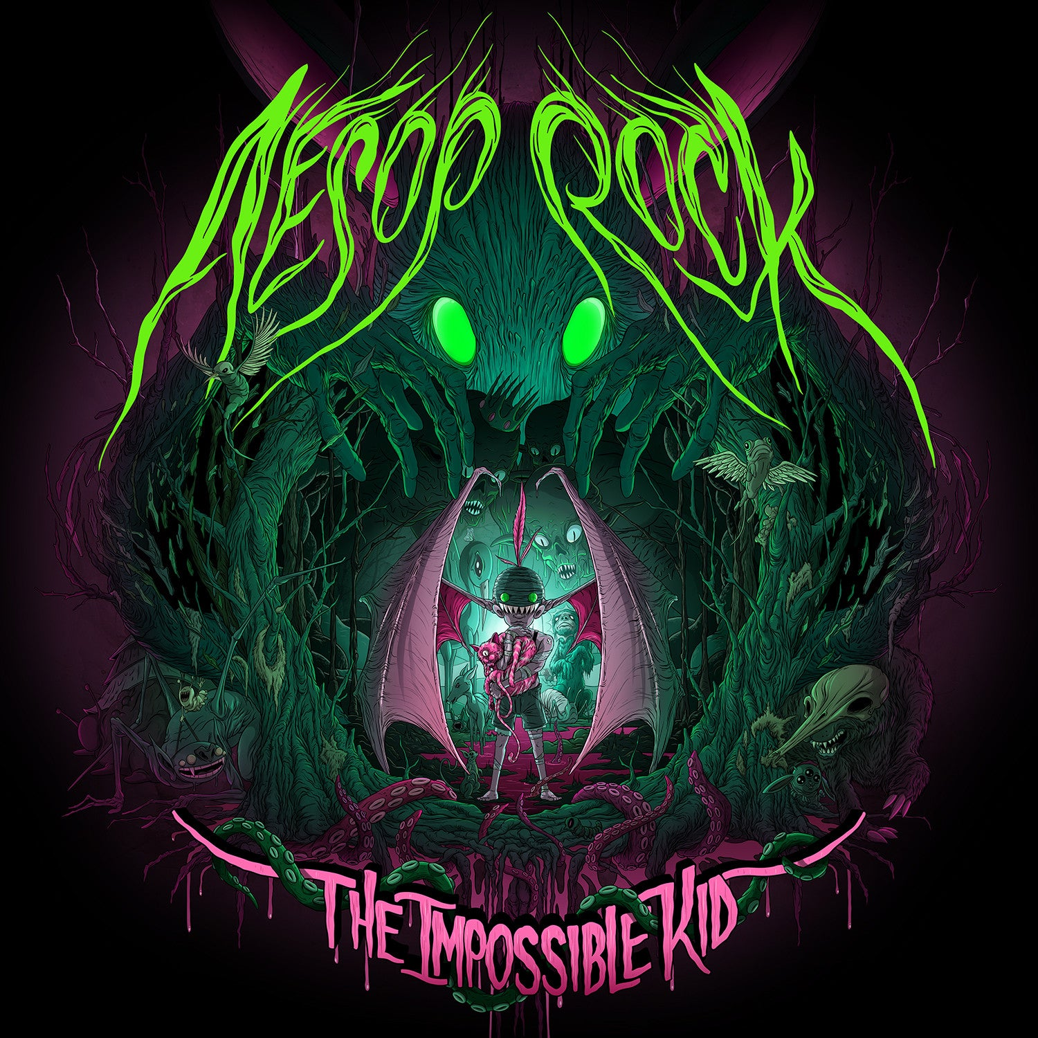 "Aesop Rock ""The Impossible Kid"""