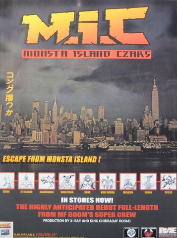 Posters fifth element monsta island czars escape from monsta island poster malvernweather Image collections