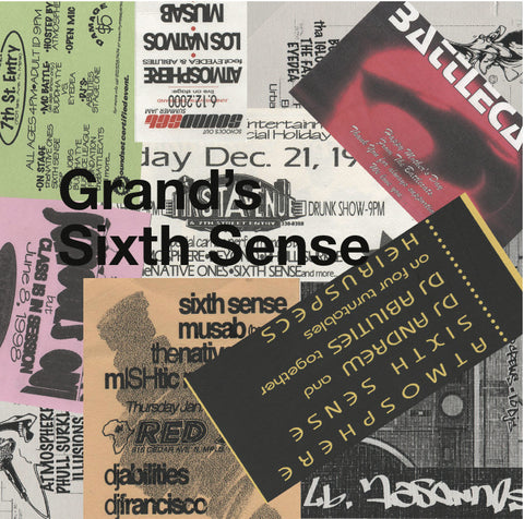 "Sixth Sense (Eyedea & Abilities) ""Grand's Sixth Sense"" CD"