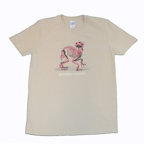 "Aesop Rock Sand ""Skelethon"" Shirt"