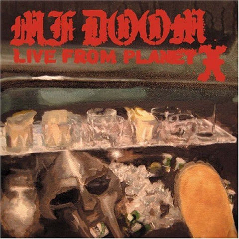 "MF Doom ""Live from Planet X"" CD"