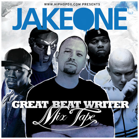 "Jake One ""Great Beat Writer"" CD"