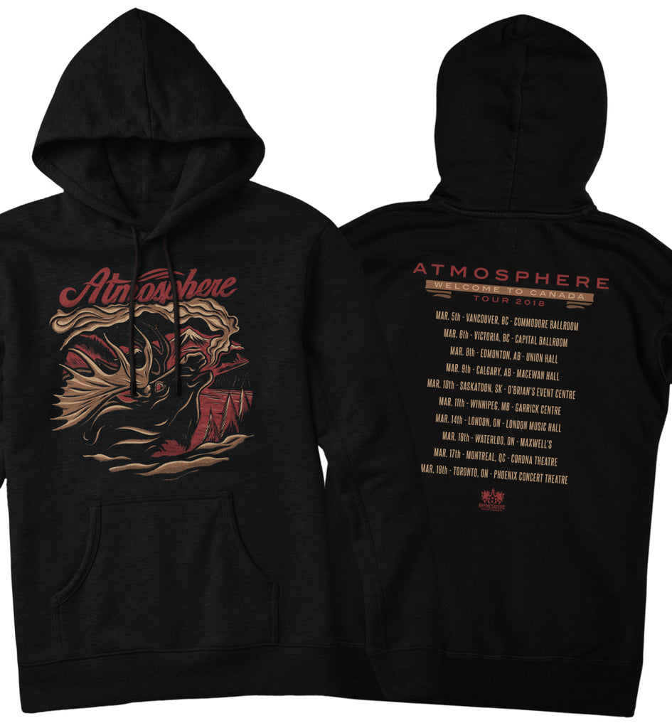 Atmosphere Welcome To Canada Tour Hoodie Fifth Element