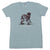 "Aesop Rock ""Skelethon"" Lt Blue T-Shirt"
