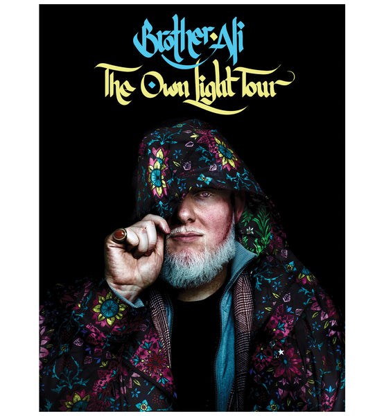 "Brother Ali ""Own Light Tour"" 18""x24"" Poster"