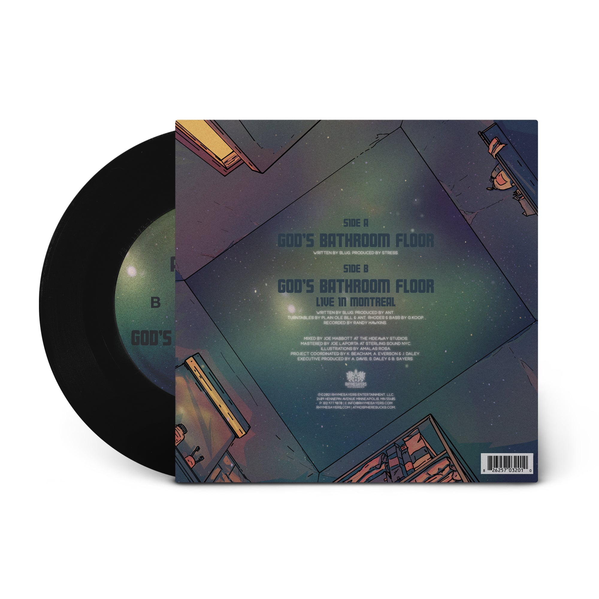 "Atmosphere ""God's Bathroom Floor"" [Pre-order]"