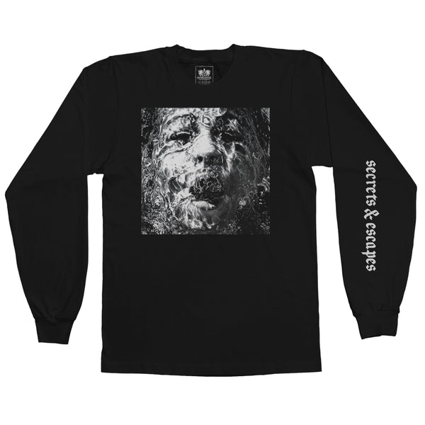 "Brother Ali ""Secrets & Escapes"" Black Long Sleeve Shirt [Pre-order]"