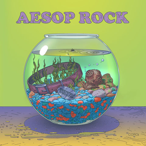 "Aesop Rock ""Cat Food"" EP"